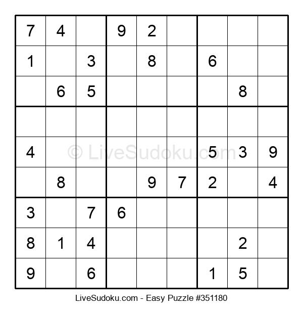 Beginners Puzzle #351180