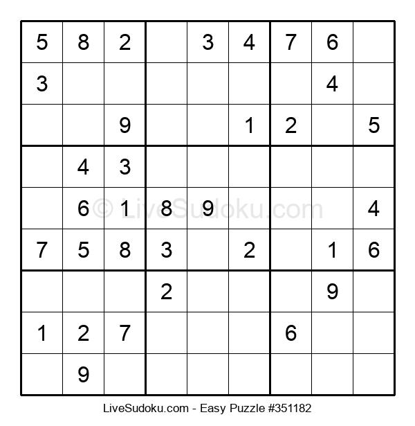 Beginners Puzzle #351182