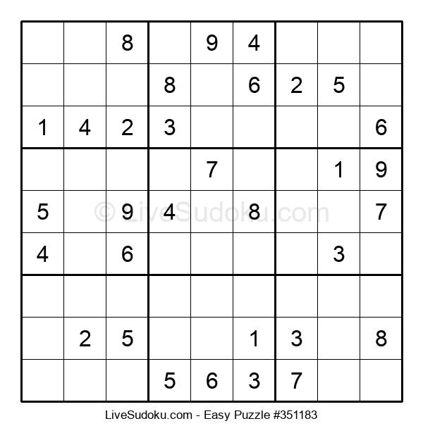 Beginners Puzzle #351183