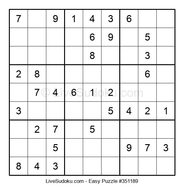 Beginners Puzzle #351189