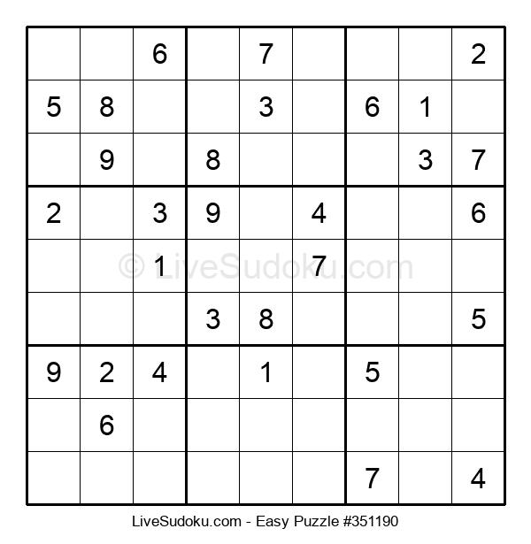 Beginners Puzzle #351190
