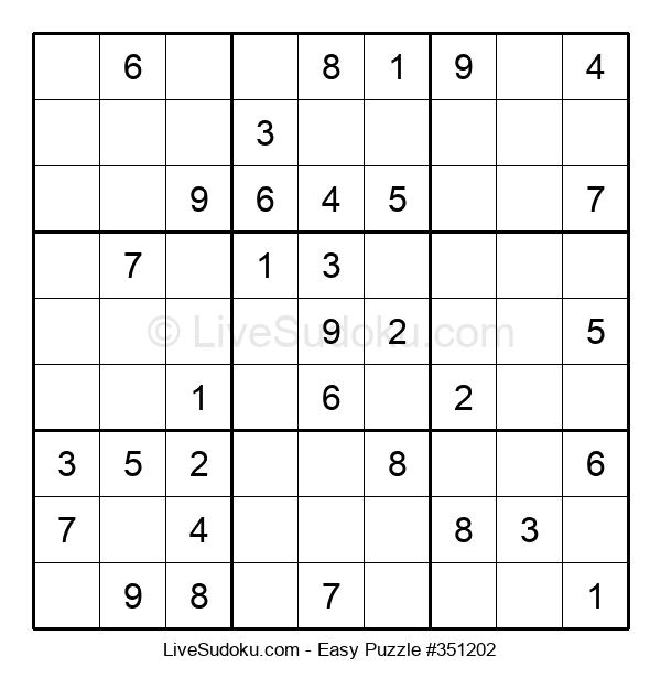 Beginners Puzzle #351202