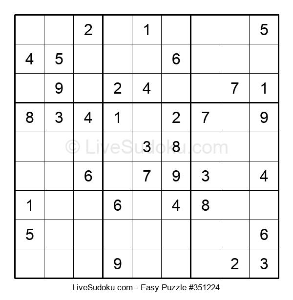 Beginners Puzzle #351224