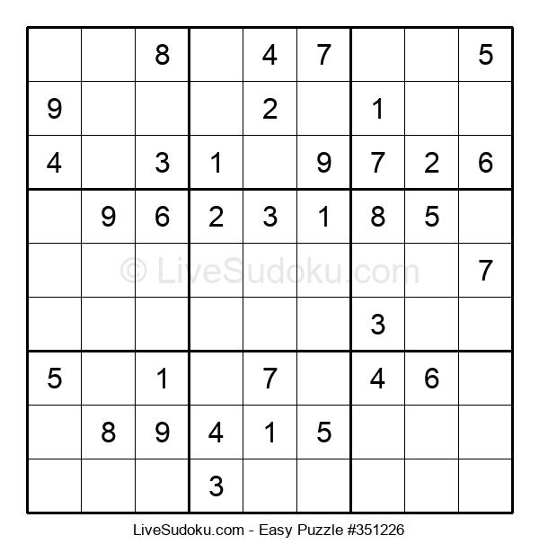 Beginners Puzzle #351226
