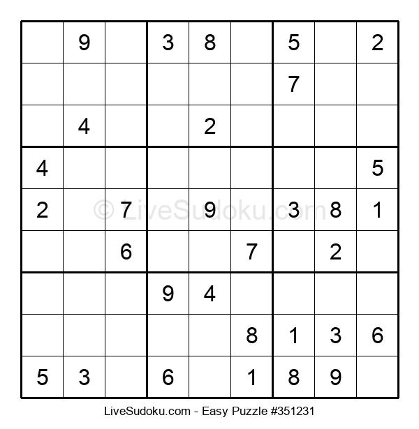 Beginners Puzzle #351231