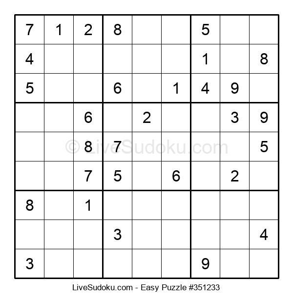 Beginners Puzzle #351233