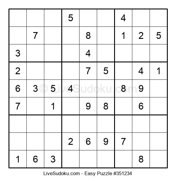 Beginners Puzzle #351234