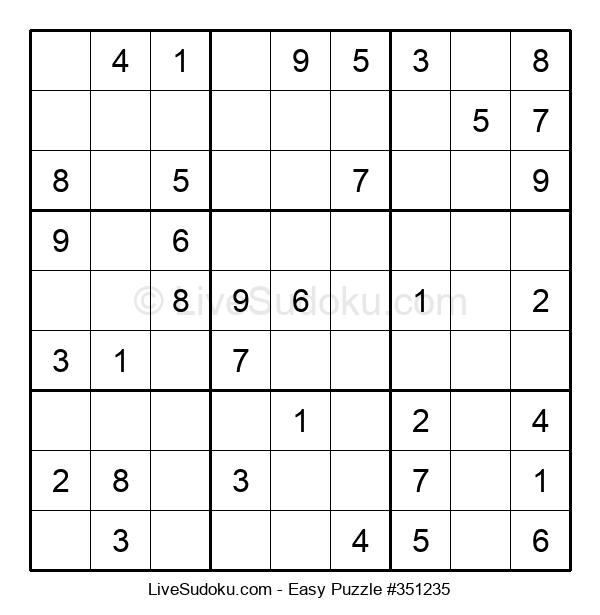 Beginners Puzzle #351235