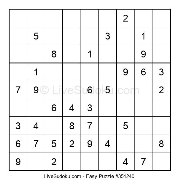 Beginners Puzzle #351240