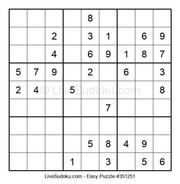 Beginners Puzzle #351251