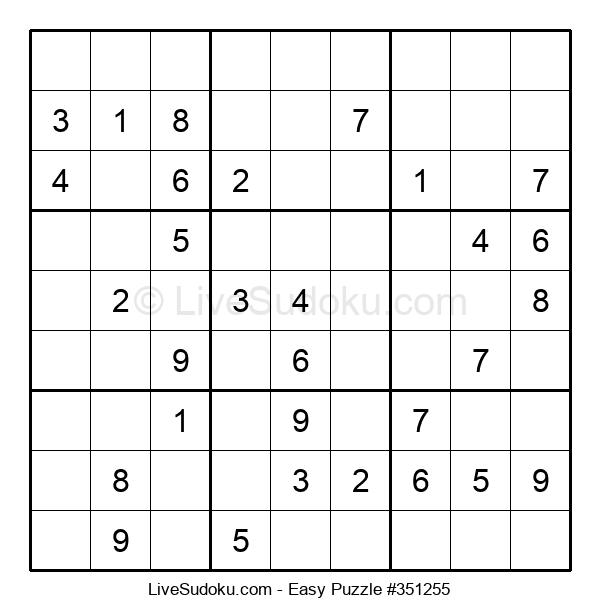 Beginners Puzzle #351255