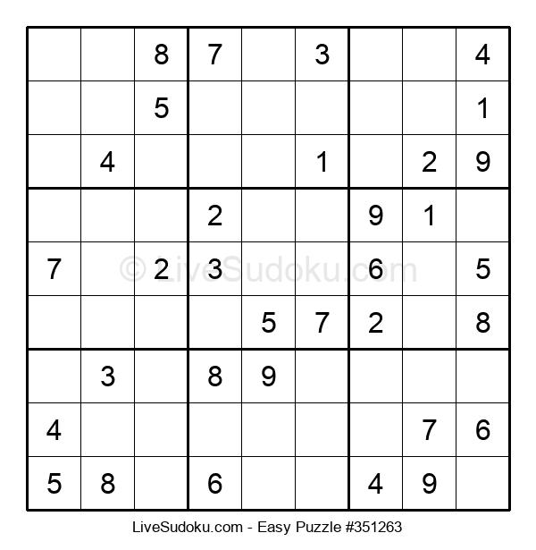 Beginners Puzzle #351263
