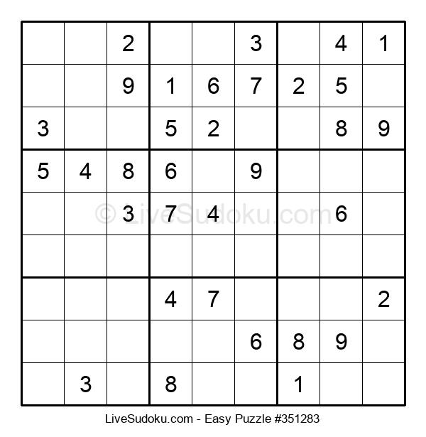 Beginners Puzzle #351283