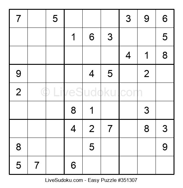 Beginners Puzzle #351307