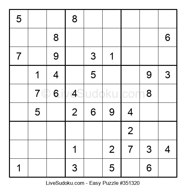 Beginners Puzzle #351320