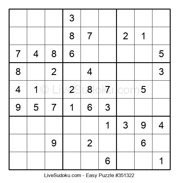 Beginners Puzzle #351322