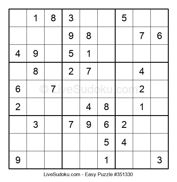 Beginners Puzzle #351330