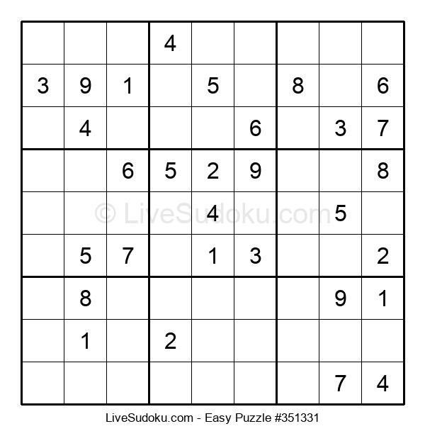 Beginners Puzzle #351331