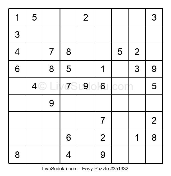 Beginners Puzzle #351332