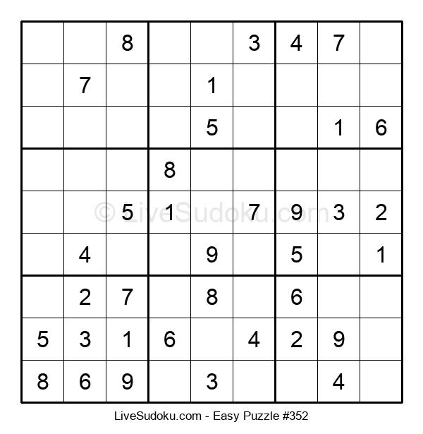 Beginners Puzzle #352