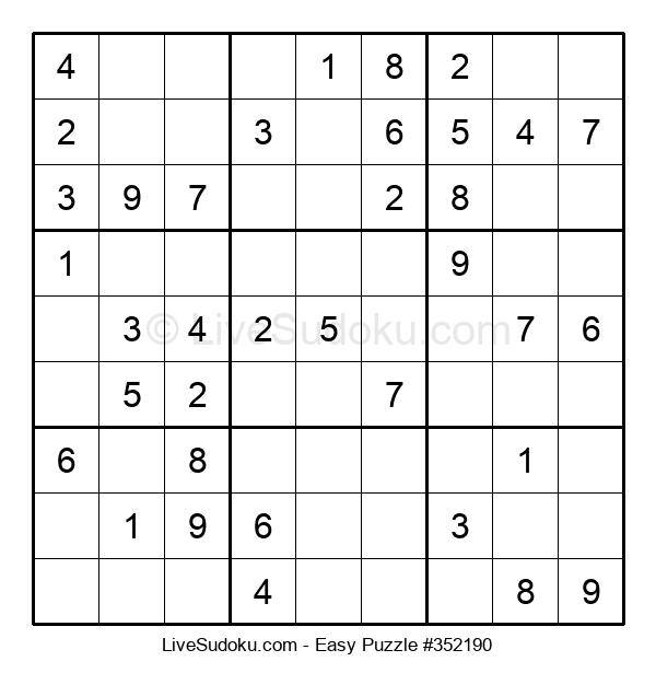 Beginners Puzzle #352190