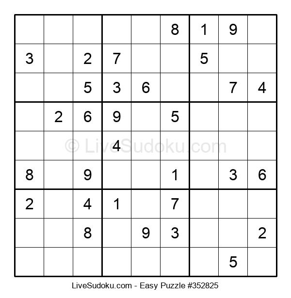 Beginners Puzzle #352825