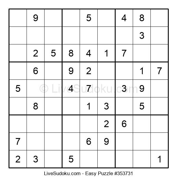 Beginners Puzzle #353731