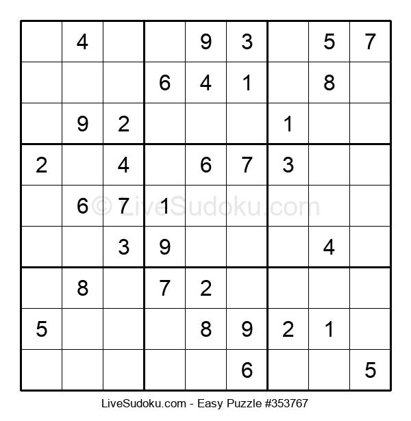 Beginners Puzzle #353767
