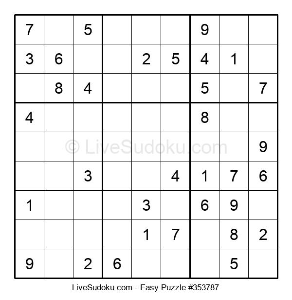 Beginners Puzzle #353787