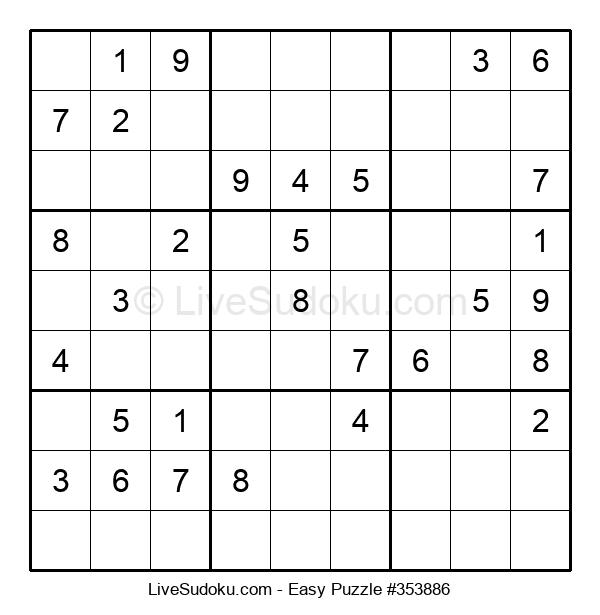 Beginners Puzzle #353886