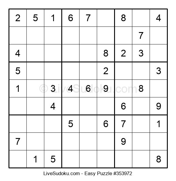 Beginners Puzzle #353972