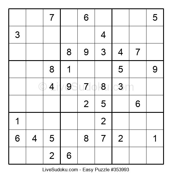 Beginners Puzzle #353993