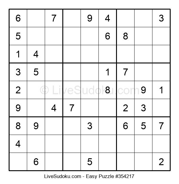 Beginners Puzzle #354217