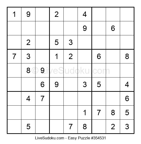 Beginners Puzzle #354531