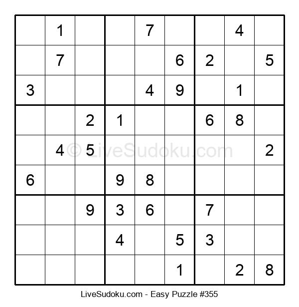 Beginners Puzzle #355
