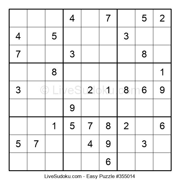 Beginners Puzzle #355014