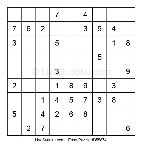 Beginners Puzzle #355874