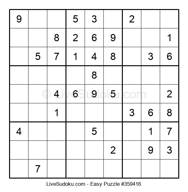 Beginners Puzzle #359416