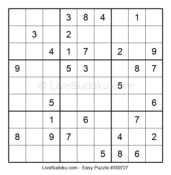 Beginners Puzzle #359727