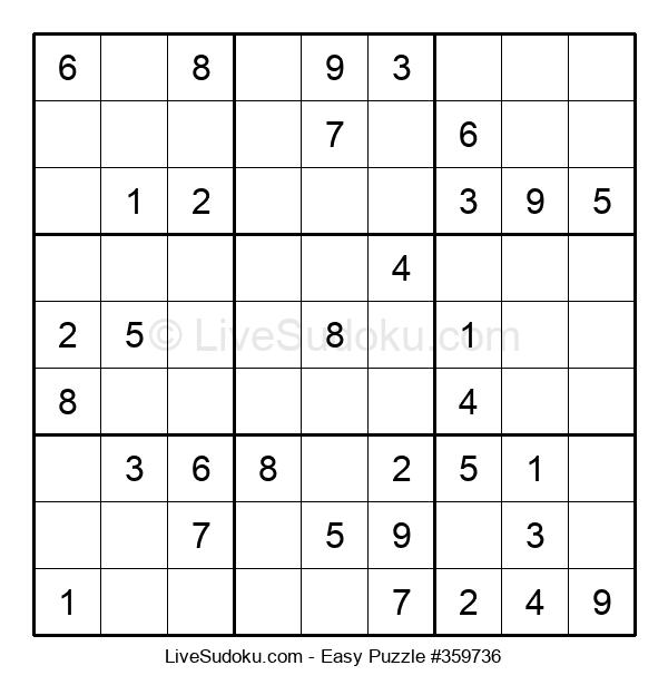 Beginners Puzzle #359736