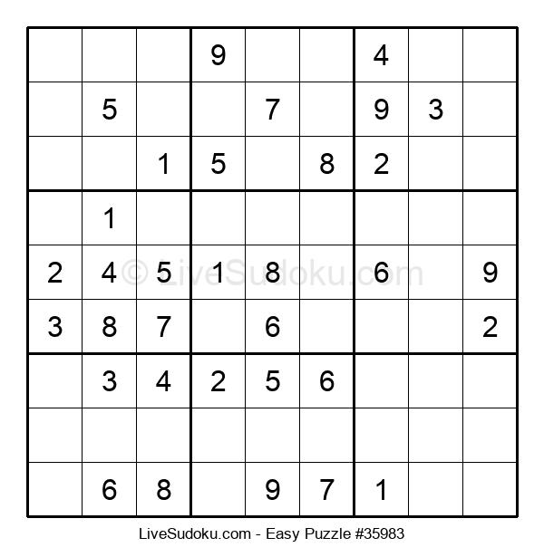 Beginners Puzzle #35983