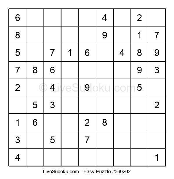 Beginners Puzzle #360202