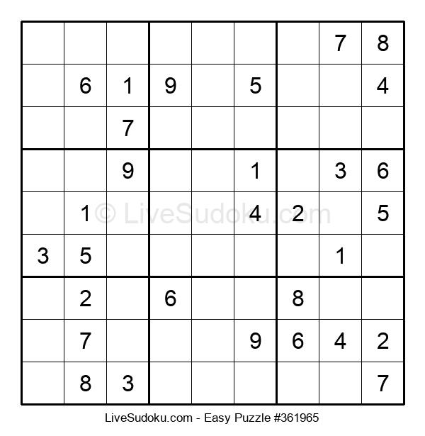 Beginners Puzzle #361965