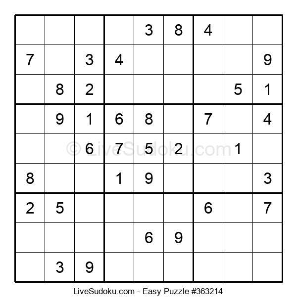 Beginners Puzzle #363214