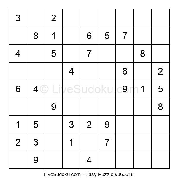 Beginners Puzzle #363618