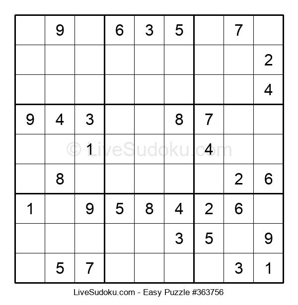 Beginners Puzzle #363756