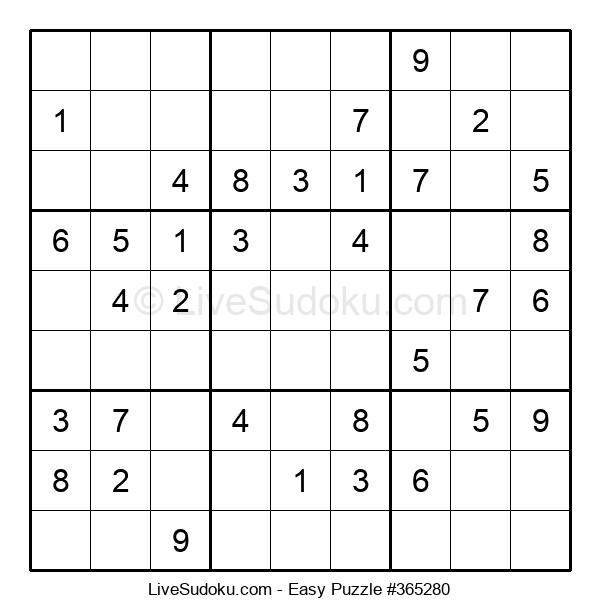 Beginners Puzzle #365280