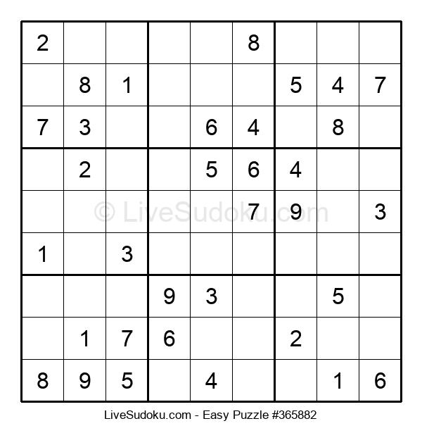 Beginners Puzzle #365882