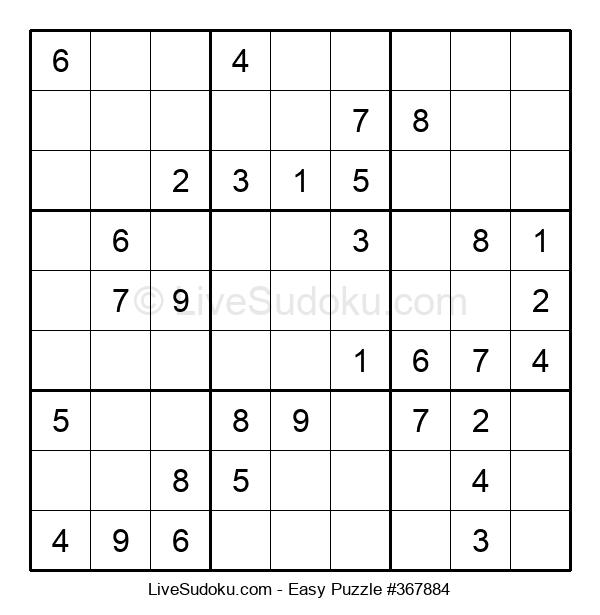 Beginners Puzzle #367884