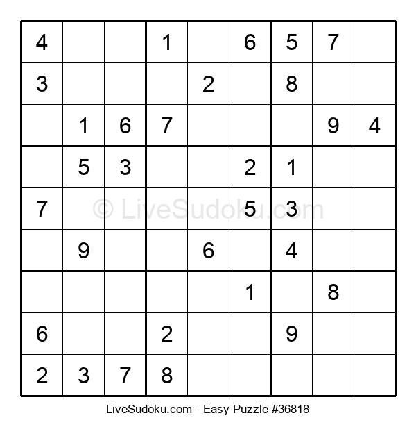 Beginners Puzzle #36818